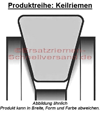 Keilriemen / Antriebsriemen für Christopeit Crosstrainer / Stepper CS 4 / CS4